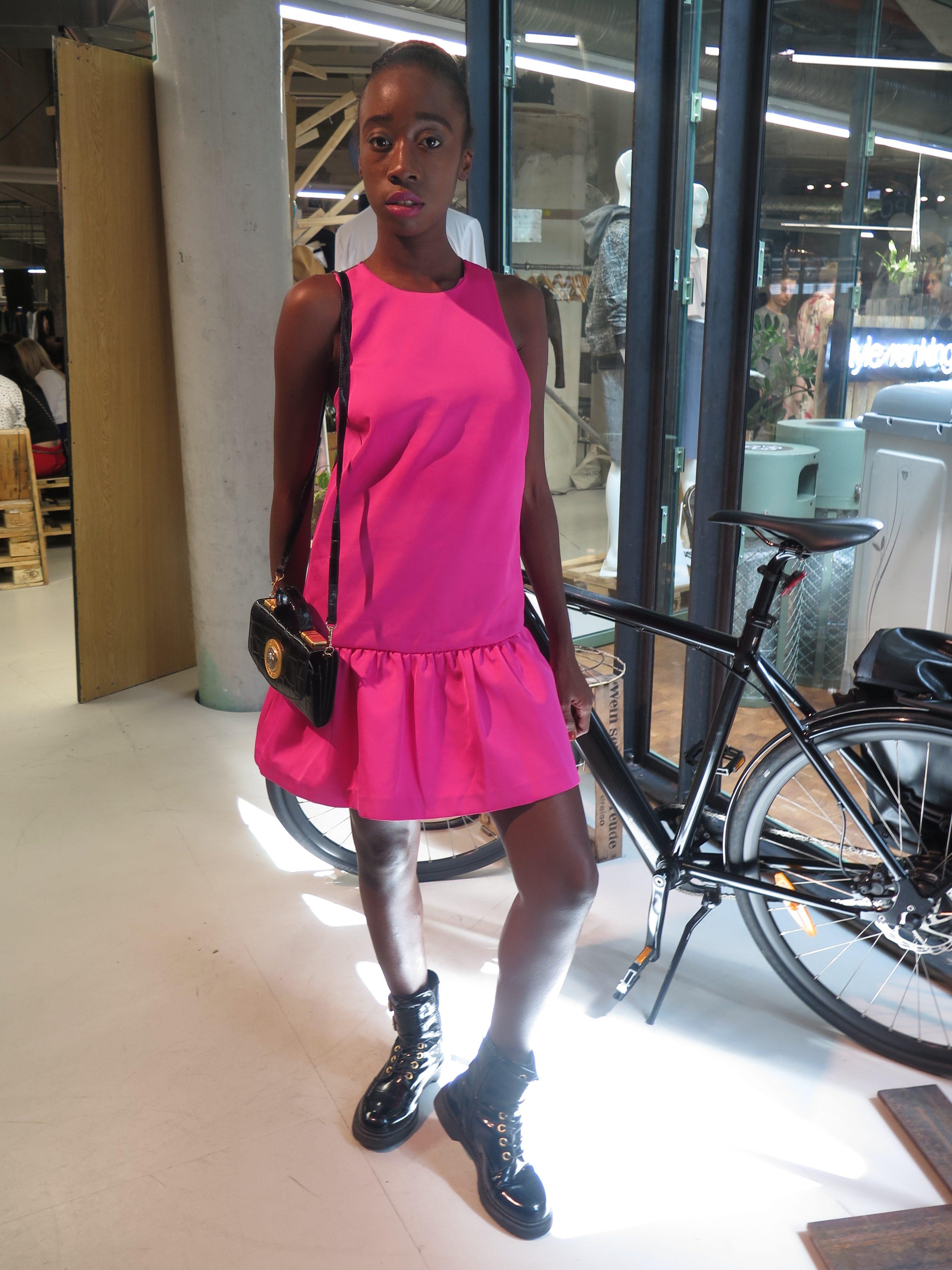 Fuschia Pink Summer Dress