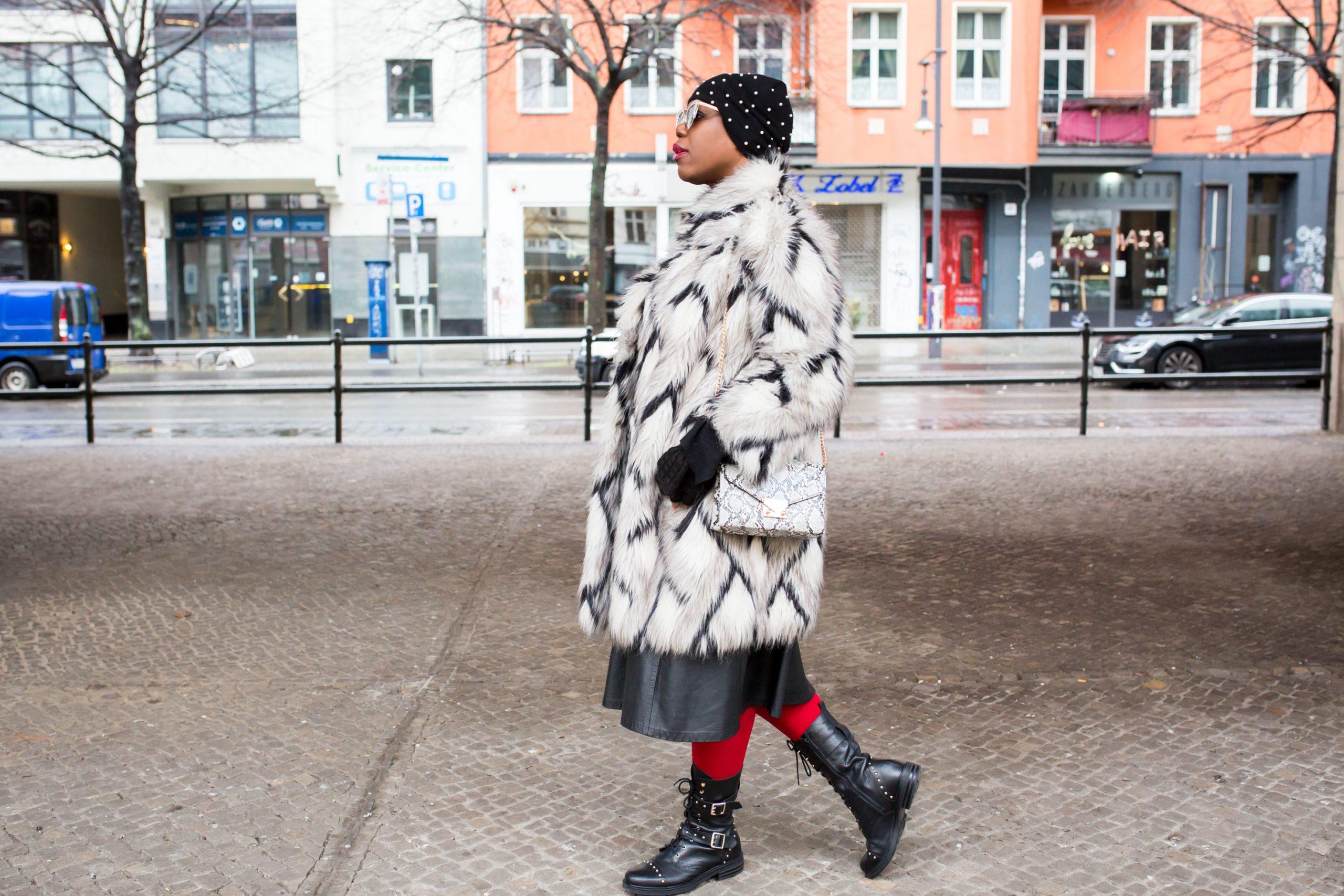 maxi fur coat