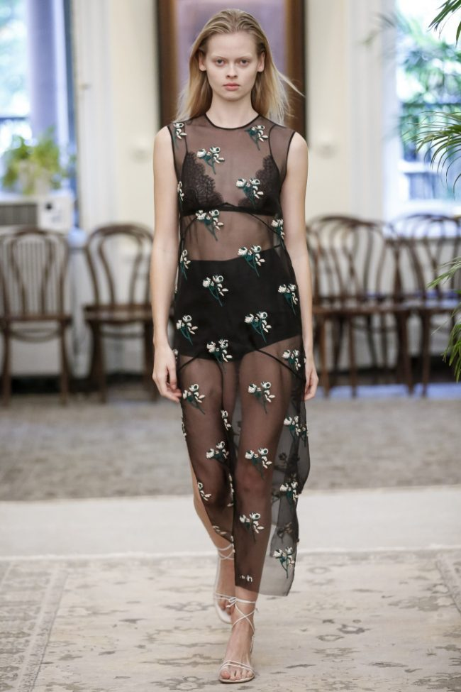 lingerie as outerwear trend