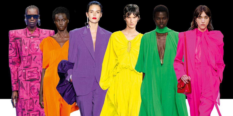 Spring fashion trend neon colours