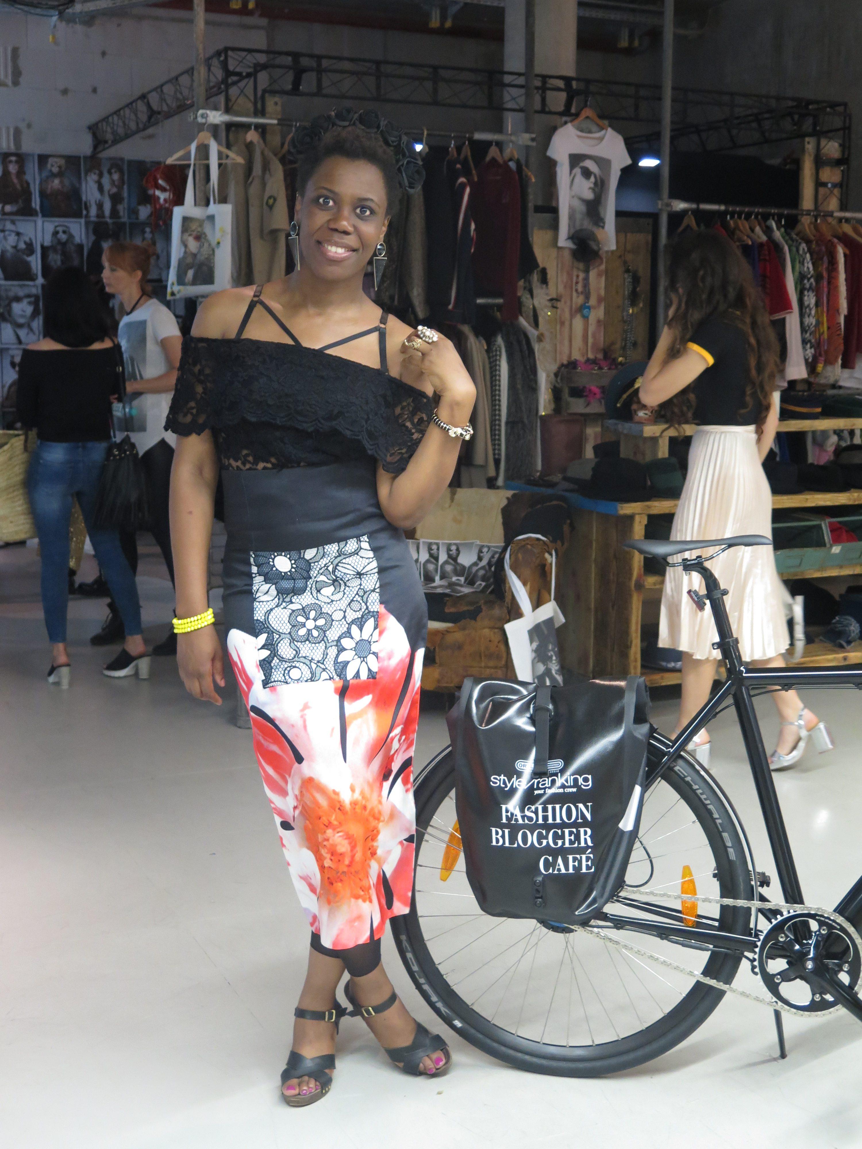 High Waist Floral Midi Skirt