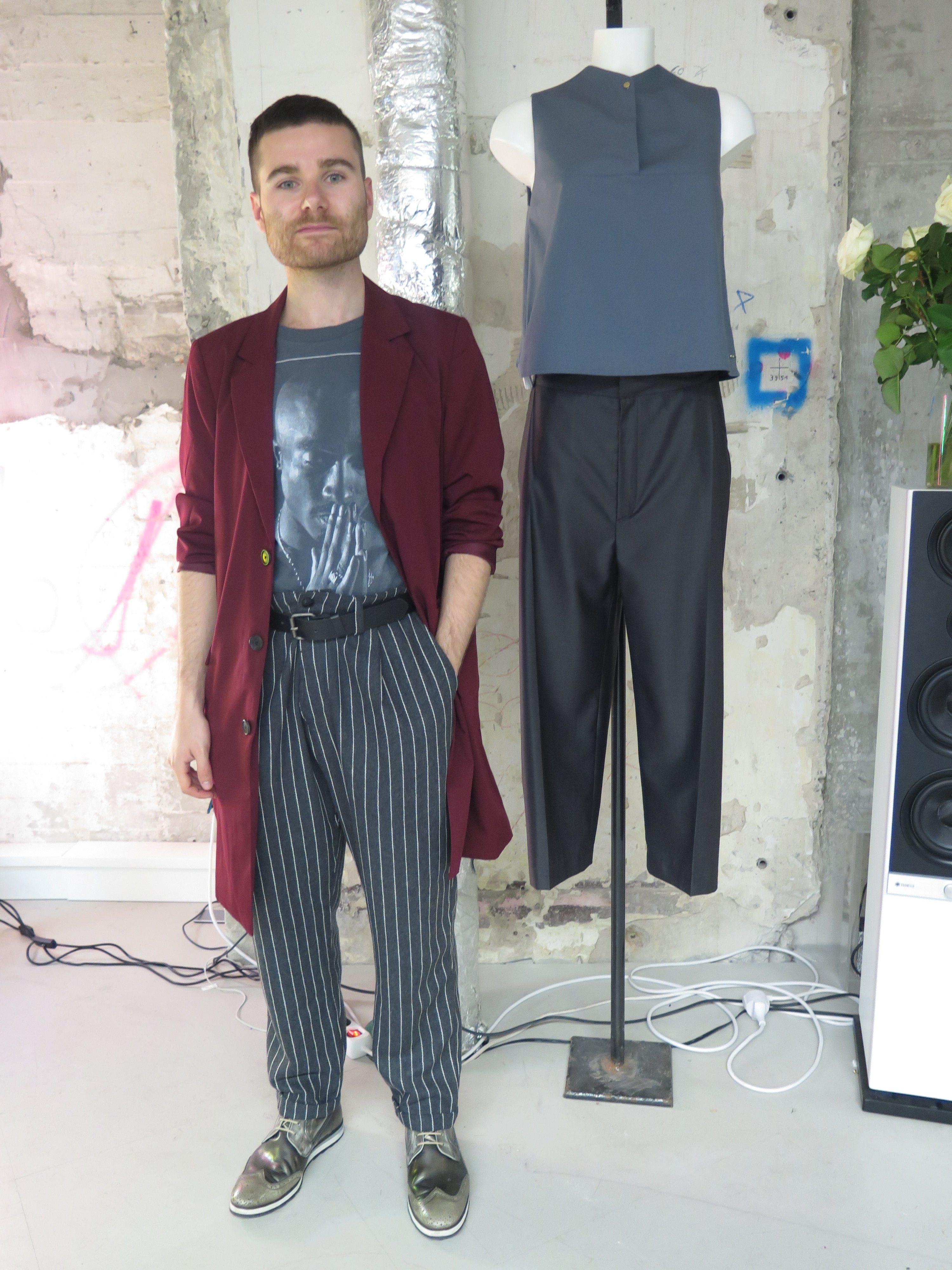 Menswear Oversized Blazer