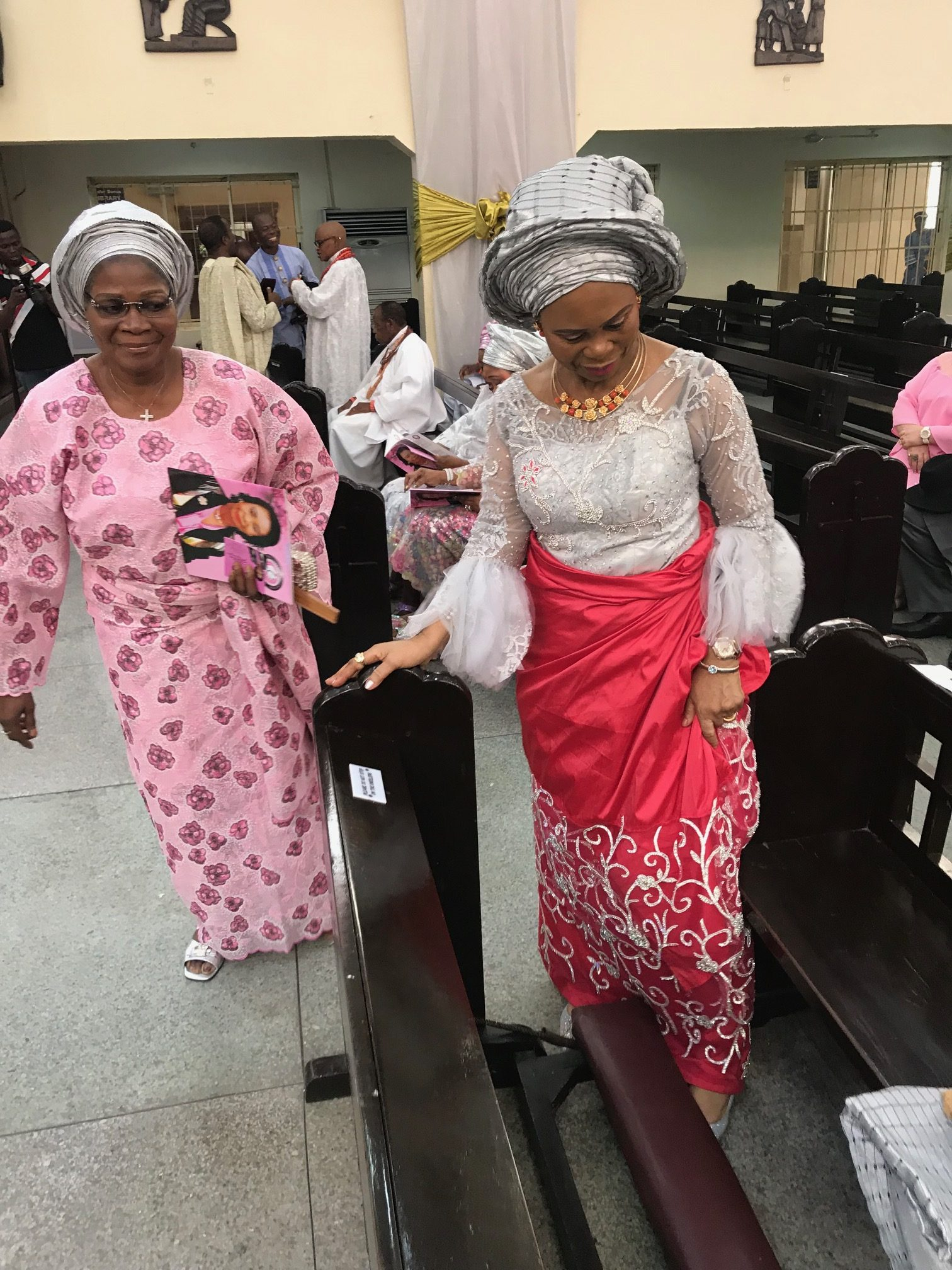 aso ebi styles older woman