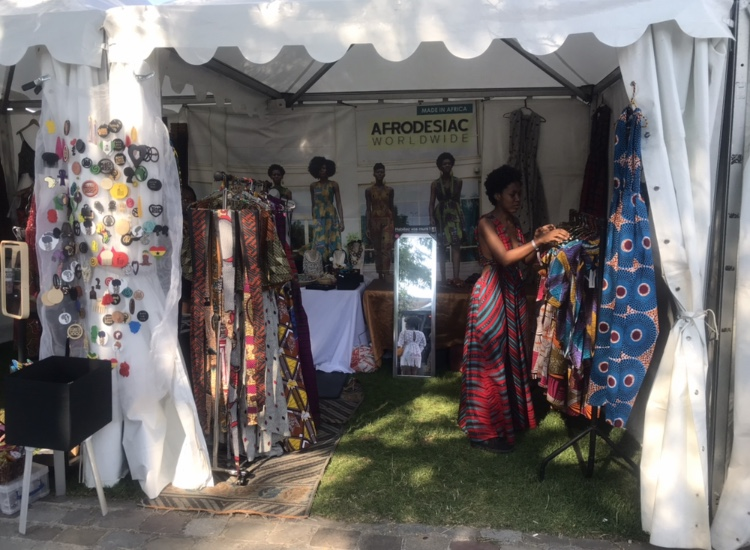 African market stall