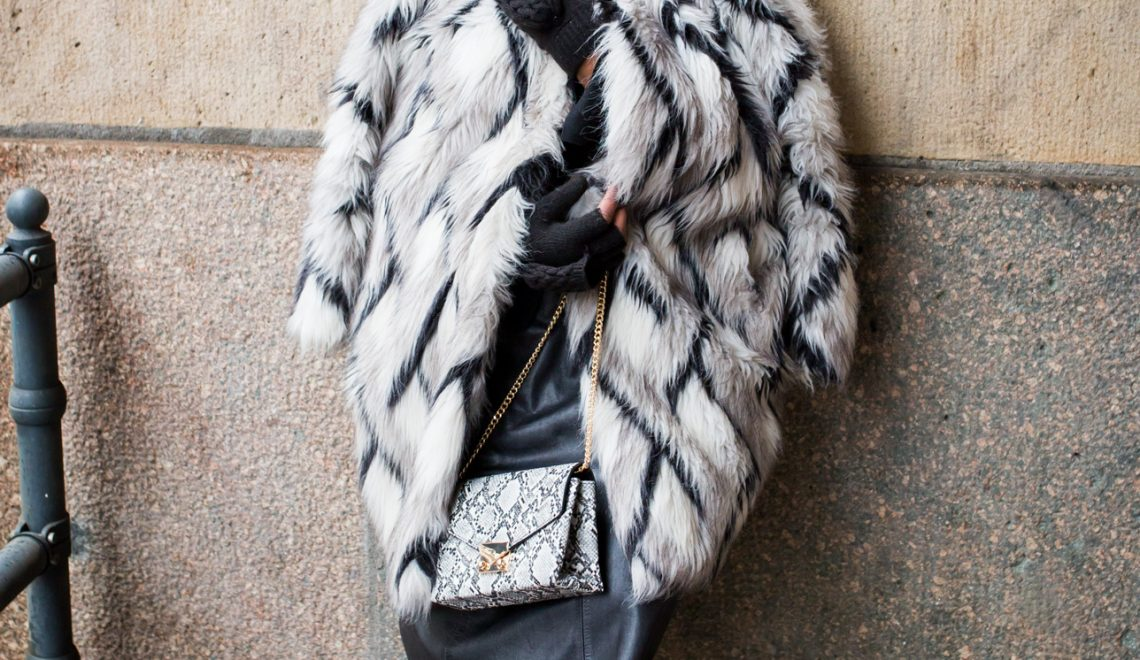 big fur coat